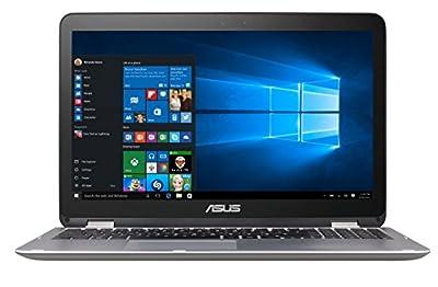Asus VivoBook Flip Convertible 15.6? Touchscreen Laptop, Intel Core i3-6100U 2.3GHz, 4GB DDR4, 128GB SSD, Bluetooth, Windows 10 Home