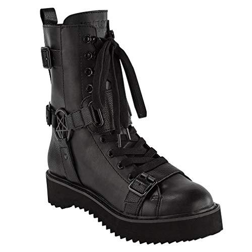 Killstar Combat Boots - Eris (Numeric_40)