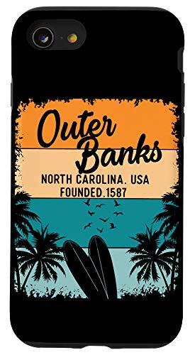 iPhone SE (2020) / 7 / 8 Outer Banks Shirts Men Women Kids OBX North Carolina NC Gift Case