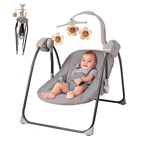 Baby Schommel Stoel, Multifunctionele Elektrische Swing Tot Rust Kindje Slaap Geschikt Voor Familie En Outdoor Reizen
