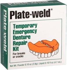 Plate-weld Denture Repair Kit - Each