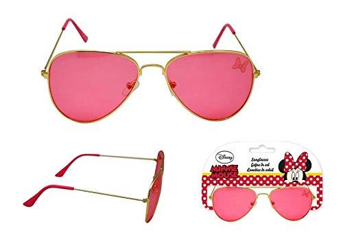 Minnie Mouse Premium metalicas Gafas de Sol Montañismo, Alpinismo y Trekking Infantil,...
