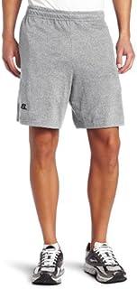 سروال قصير بجيوب قطني أساسي للرجال من Russell Athletic (عبوة من 1)