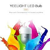 Lorsoul Yeelight YLDP05YL YLDP06YL Smart LED E27 10W 800lm App WiFi Telecomando Soggiorno Camera da Letto Lampadina