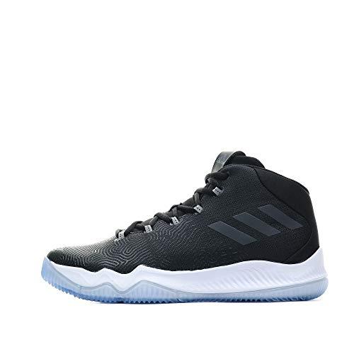 adidas - Crazy Hustle Herren Basketballschuh schwarz weiß Gr. 50 2/3