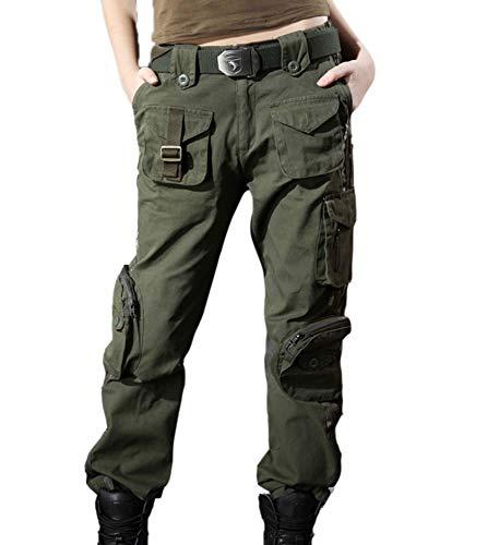 Worclub Pantaloni Militari da Donna Pantaloni Tattici Pantaloni mimetici da Donna Pantaloni Cargo Pantaloni da Campeggio Multifunzione all'aperto