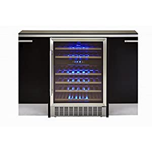 Hostess 46 Bottle Built-in Wine Cabinet HW46MA Fridge Cooler Chiller