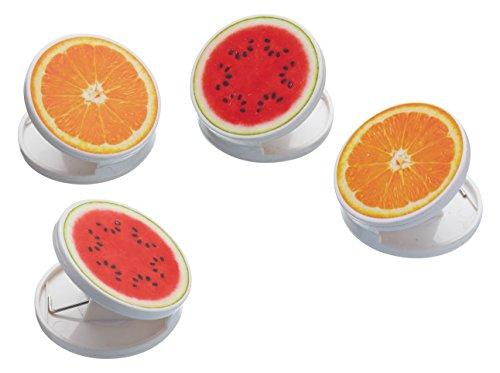 Kitchen Craft KCHEBAGCLIPPK4 Clips de Sac 4 Pièces, Plastique, Multicolore, 32 x 32 x 22 cm