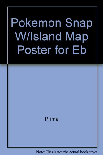 Title: Pokemon Snap WIsland Map Poster for Eb