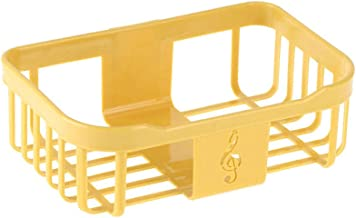 Toiletrolhouder, badkamerpapierrolhouder Toiletrolhouder voor keuken wasruimte -geel