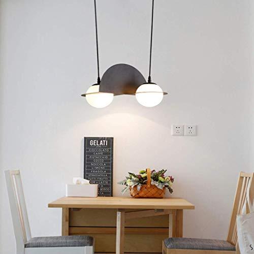 Kroonluchter HAODAMAI kroonluchter plafondlamp Nordic gang hanglamp 3 glazen bol ronde hanglamp globes moderne woonkamer