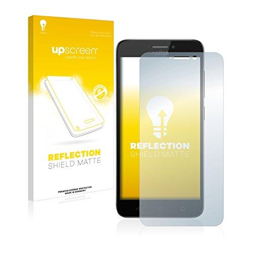 upscreen Entspiegelungs-Schutzfolie kompatibel mit TP-Link Neffos Y5s – Anti-Reflex Bildschirmschutz-Folie Matt