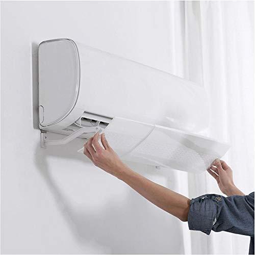TIZJ Retractable Klima Zetterprallblech Windschutz Klimaanlage Vent Schild Universal-Windschutzscheibe Anti-Direct Pinnwand Fan Blower for Heim (weiß)
