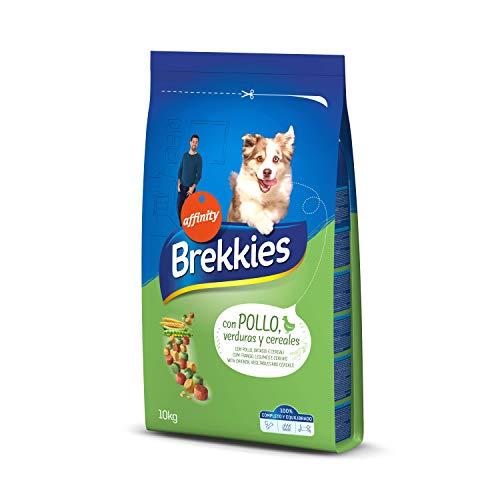 Brekkies Pienso para Perros con Pollo, Legumbres y...
