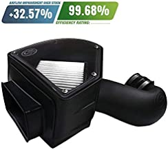 S&B Filters 75-5090D Cold Air Intake For 1994-2002 Dodge Ram Cummins 5.9L (Dry Extendable Filter)