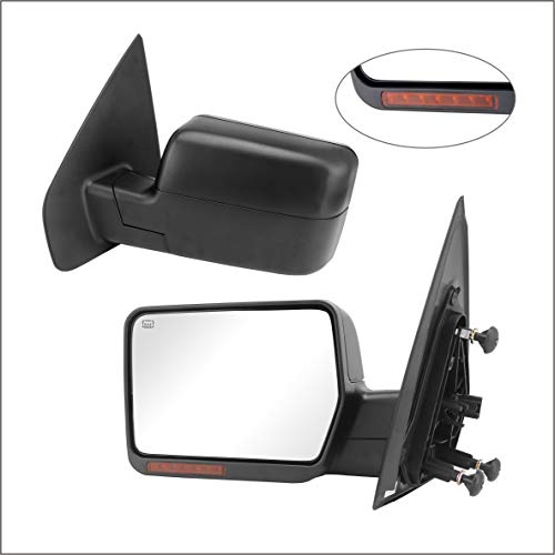 Perfit Zone Towing Mirror Replacement Fit for 2004-2006 F150, POWER...