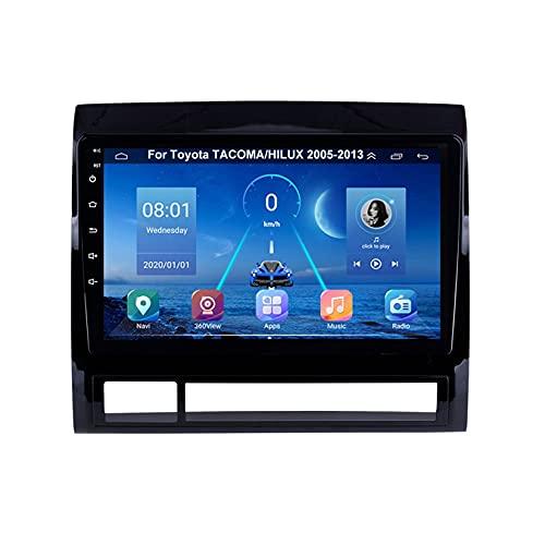 Autoradio Mit Navi Apple Carplay 9 Inch Pantalla Tactil Para Coche Reproductor Para Toyota TACOMA/HILUX 2005-2013 Radio Del Coche Car Player Conecta Y Reproduce Coche Audio USB