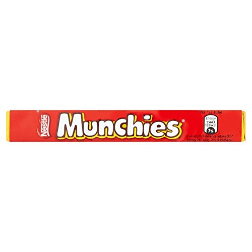 Nestlé - Munchies - Chocolates con galleta y caramelo - 52 g - Pack de 12 unidades