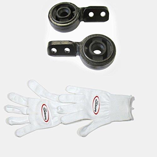 Autoparts-Online Set 60006600 Gummimetallager/Querlenkerlager Links + rechts für vorne/für die Vorderachse