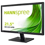 HANNspree HE225HPB 54,61cm (21,5') LED-Monitor Full-HD 250cd VGA HDMI Lautsprecher VESA