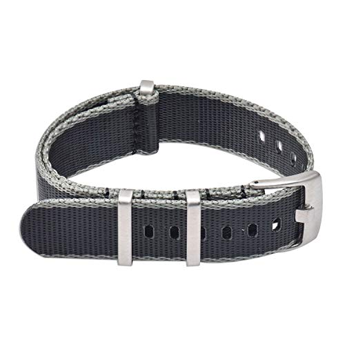 Vinband Cinturini Orologi Alta qualità Nylon Orologi Bracciale - 20mm,...