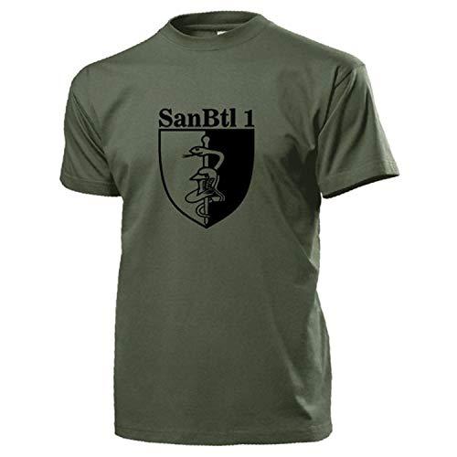 SanBtl BW 17931 - Bataillón de sanidad con escudo de los sanitarios verde oliva XL
