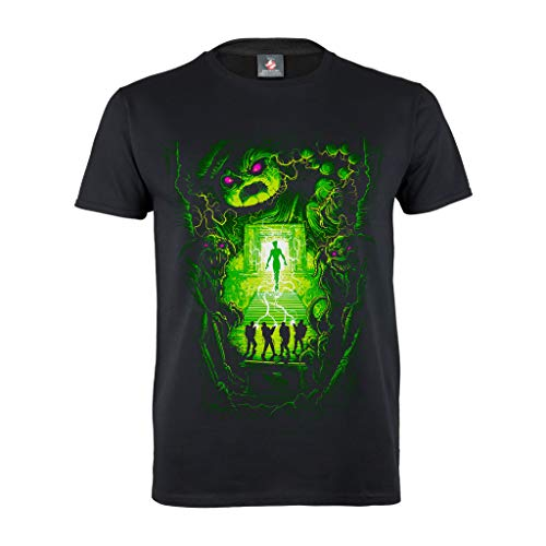 Men's Official Ghostbusters Dan Mumford Halloween T-shirt