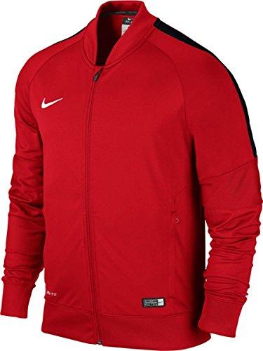 NIKE Jacket Squad15 SDLN Knit Chaqueta, Unisex, Multicolor-Rojo, Negro y Blanco, Extra-Large