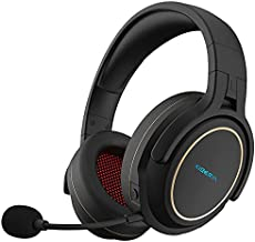 XIBERIA Wireless Gaming Headset for PS5,PS4,PC with Microphone,Lossless 2.4GHz Ultra-Low Latency,Double Chamber Drivers,Noise Cancelling MIC,Long Battery Life,Wired Mode for Xbox one