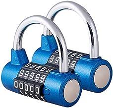Surplex 5 Digit Combinatie Hangslot, Waterdichte Antiroest, Combinatie Resettable Sloten, Beveiliging Nummer Slot, voor Ou...