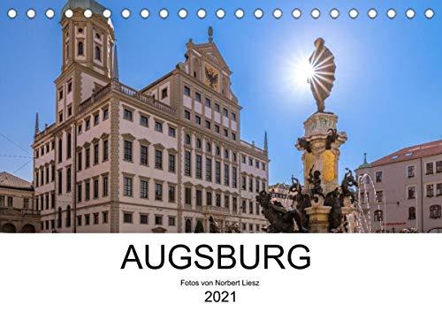 Augsburg 2021 (Tischkalender 2021 DIN A5 quer)