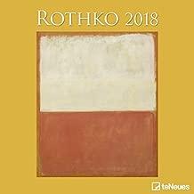 2018 Rothko Calender - teNeues Grid Calendar- Art Calender - 30 x 30 cm