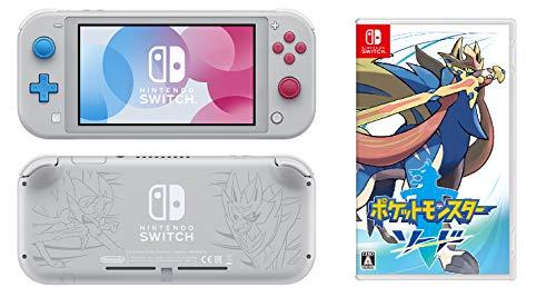Nintendo Switch Lite ザシアン・ザマゼンタ + ポケットモンスター ソード -Switch&【予約者限定特典】「ポ...