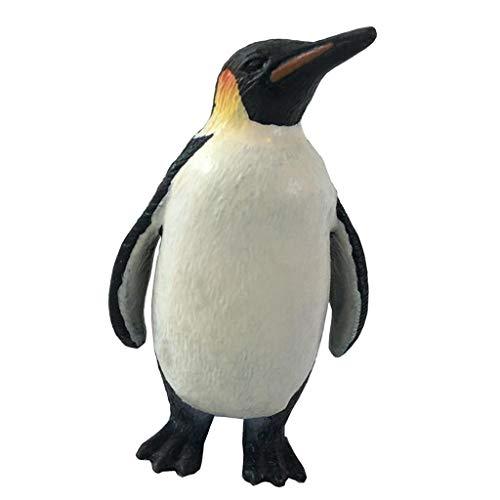 FLAMEER Mini süße Meer Tierfigur Miniatur Garten Micro Landschaft, unterschiedliche Dekofigur zum auswählen - Pinguin