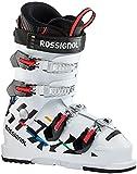 Rossignol Hero Jr 65 Botas de esquí, Unisex-Youth, White, 22.5