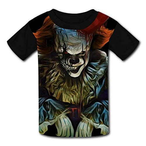 Pasilin Youth Summer Graffiti-Stephen T Shirt Printed Tops for Boys Girls Short Sleeve Tees Gr. S, Schwarz
