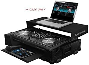 Odyssey Cases FZGSPIXDJR1GTBL   Black Label Pioneer XDJ-R1 controller Glide Style Case with Bottom GT Glide Tray