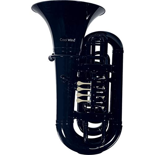 Cool Wind CTU-200 ABS Tuba with protective cover, black