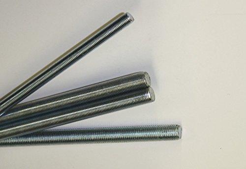 1 Stk Gewindestange DIN 975 Stahl M7 - Stahl verzinkt