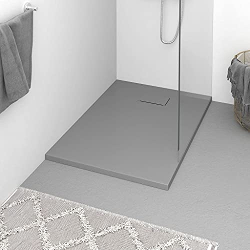 Plato de ducha, Plato de ducha Base Plato de ducha Plato de ducha SMC Gris 100x70 cm