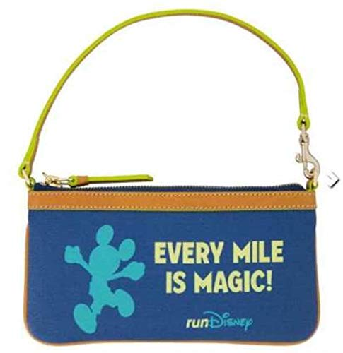 Disney Dooney and Bourke RunDisney 2019 Marathon Wristlet Handtasche Every Mile Is Magic