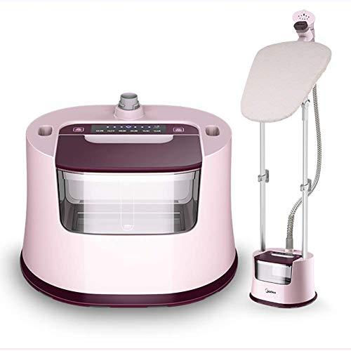 XiaoDong1 Vaporizador de tela para ropa Panel de vapor de alta eficiencia, Vaporizador de ropa con suspensión ancha Vaporizador vertical de pie Vaporizador de ropa con cepillo para tela, Perch
