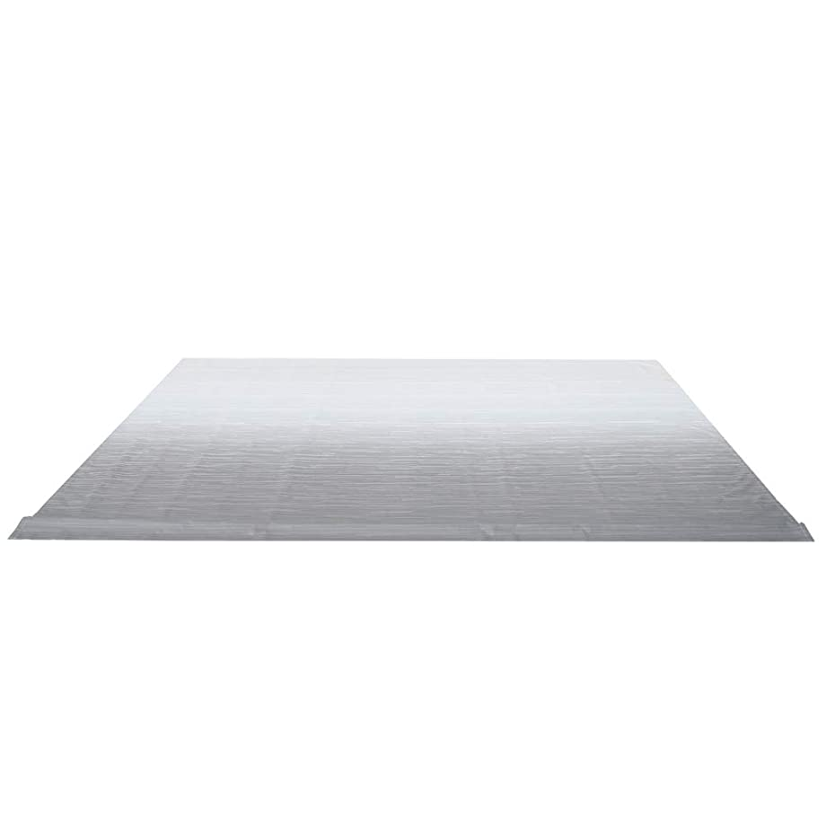 ALEKO RVFAB15X8GREY26 RV Awning Fabric Replacement 15 x 8 Feet Gray