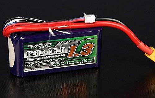moda Turnigy nano-tech 1300mah 3S 2550C Lipo Pack Pack Pack by Turnigy  Ven a elegir tu propio estilo deportivo.