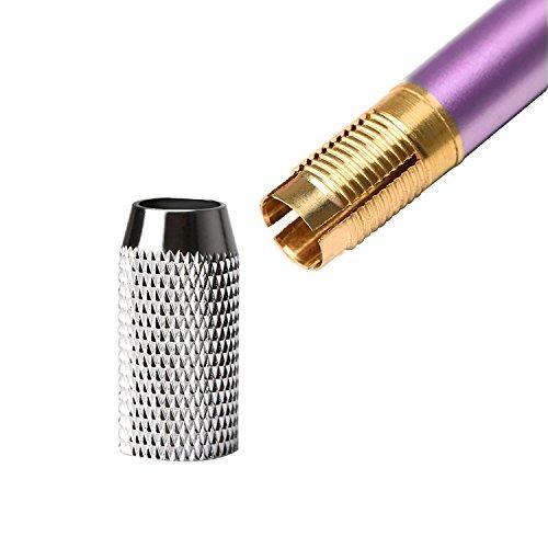 Shappy Aluminum Pencil Lengthener Extender Holder, Assorted Colors, 6 Pieces Photo #4