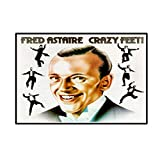 DrCor Fred Astaire Retro Poster Leinwanddruck Wand