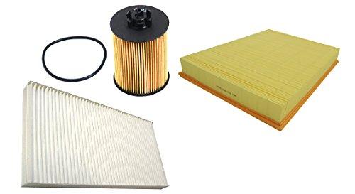 Mapco 68719 Filtersatz Ölfilter Luftfilter Pollenfilter