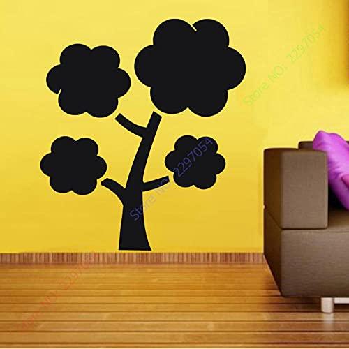 Ksnrang Pegatinas de Pared de árbol Grande Decoración para el hogar Pizarra...