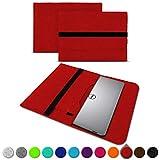 UC-Express Sleeve Hülle für Dell XPS 13 9380 9370 9360 9365 Tasche Filz Notebook Cover Laptop Hülle 13,3 Zoll Schutzhülle, Farben:Rot