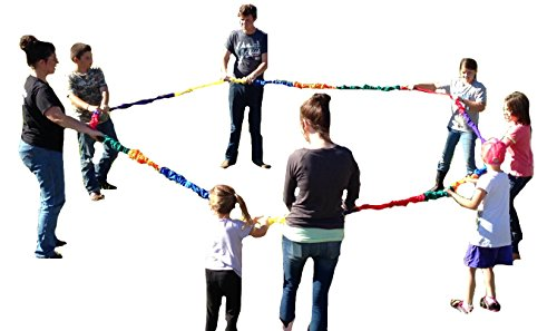 Bear Paw Creek Stretchy Band, Creative Movement Prop for Group Activities, Direct from USA Manufacturer (XL)